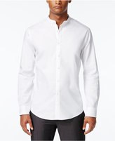 INC International Concepts Men's Banded-Collar Shirt, Only at Macy's