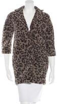 Thakoon Wool Printed Coat