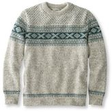 L.L. Bean Heritage Sweater, Norwegian Crewneck Pattern
