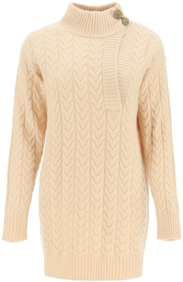 Max Mara medea cable knit wool and cashmere sweater