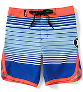 Hurley Little Boys 4-7 Peter Striped/Color Block Board Shorts
