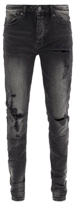Ksubi Van Winkle Skinny-fit Jeans - Black