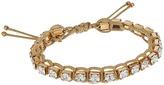 Tory Burch Crystal Macrame Bracelet