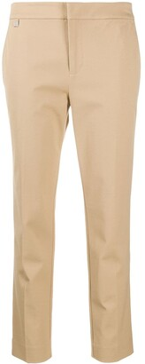 Lauren Ralph Lauren Slim-Fit Cropped Trousers