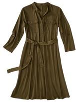 Merona Maternity 3/4-Sleeve Front Pocket Shirt Dress - Assorted Colors
