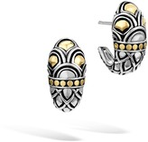 John Hardy Women's Legends Naga Buddha Belly Earring in Sterling Silver and 18K Gold