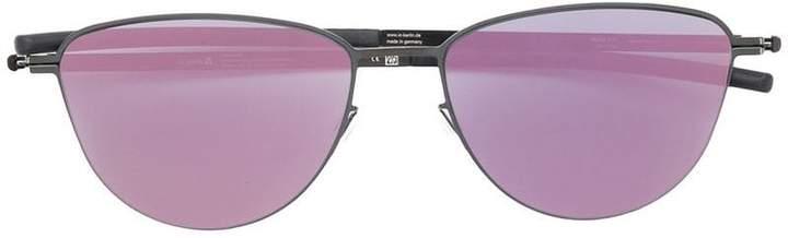 Ic! Berlin round mirrored sunglasses