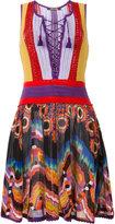 Roberto Cavalli crochet top dress
