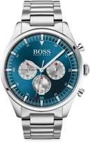 HUGO BOSS Pioneeer Stainless Steel Chronograph Watch