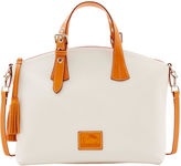 Dooney & Bourke Patterson Leather Large Trina Satchel