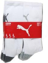 Puma Men's Crew Cut Socks - 6 Pairs