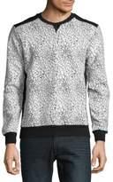 Eleven Paris Cracked Cotton Sweatshirt