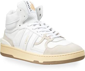 Lanvin Men's Clay High-Top Tennis Sneakers