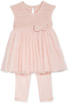 First Impressions 2-Pc. Tulle Tunic and Leggings Set, Baby Girls (0-24 months), Created for Macy's