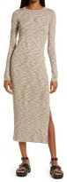 Thumbnail for your product : French Connection Long Sleeve Space Dye Knit Dress
