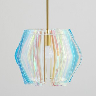 Pottery Barn Teen Faceted Iridescent Pendant