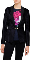 Ted Baker Katcia Velvet Tuxedo Jacket