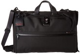 Tumi Alpha 3 Garment Bag Trifold Carry-On (Black) Luggage