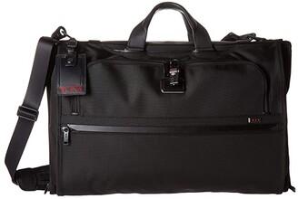 Tumi Alpha 3 Garment Bag Trifold Carry-On (Black) Luggage