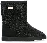Philipp Plein 'Do Ya' boots - women - Rabbit Fur/Suede/Plastic/rubber - 40