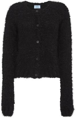 Prada textured button-down cardigan