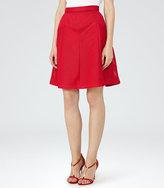 Reiss Amythist Textured A-Line Skirt