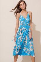 Yumi Kim City Lights Midi Silk Dress