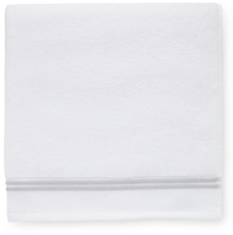 Sferra Aura Bath Towel - White/Gray