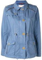 MICHAEL Michael Kors military jacket - women - Cotton - XL