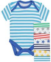 George 7 Pack Assorted Bodysuits