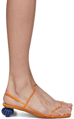 Jacquemus Orange Les Sandales Manosque Heeled Sandals