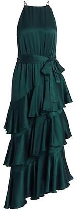 Zimmermann Picnic Tiered Silk Dress