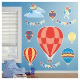 BuySeasons Hot Air Balloon Giant Wall Decal
