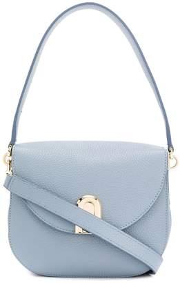 Furla Sleek grained-effect shoulder bag
