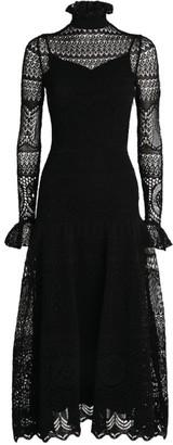 Alexander McQueen Long Lace Dress