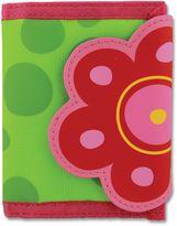Stephen Joseph Flower Wallet in Green
