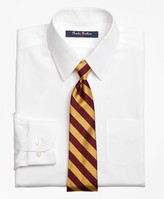 Brooks Brothers Non-Iron Supima Pinpoint Cotton Dress Shirt