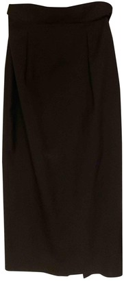 John Rocha Black Wool Skirt for Women