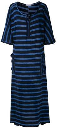 M·A·C Mara Mac striped maxi dress