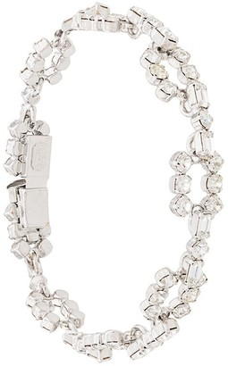 Christian Dior X Susan Caplan 1990's Archive Articulated Crystal Bracelet