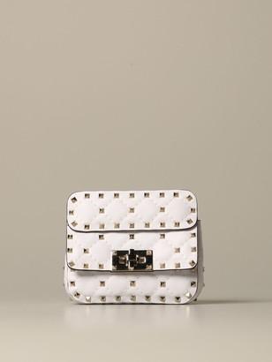 Valentino Rockstuds Spikes Leather Bag