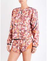 adidas by Stella McCartney Run camouflage-print shell jacket
