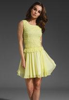 Z Spoke by Zac Posen Chiffon Dress