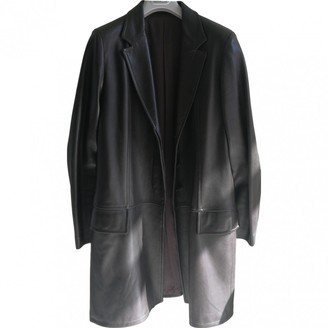 Gucci Brown Leather Coat for Women Vintage