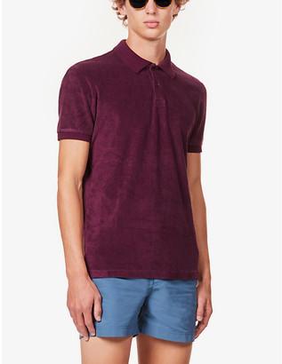 Orlebar Brown x James Bond Ryder cotton-towelling polo shirt