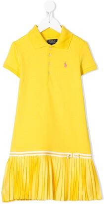 Ralph Lauren Kids Ruffled Polo Dress