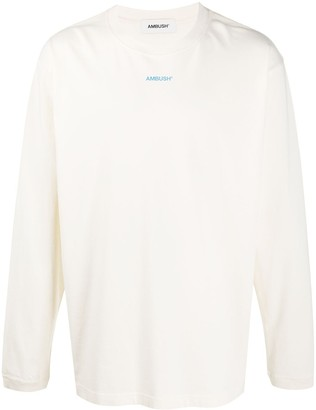 Ambush logo print long-sleeve T-shirt