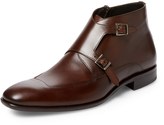 Mezlan Men's Leather Double Monkstrap Boot