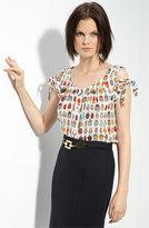 'Emilie' Ladybug Print Blouse