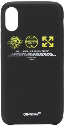Off-White logo prints iPhone case